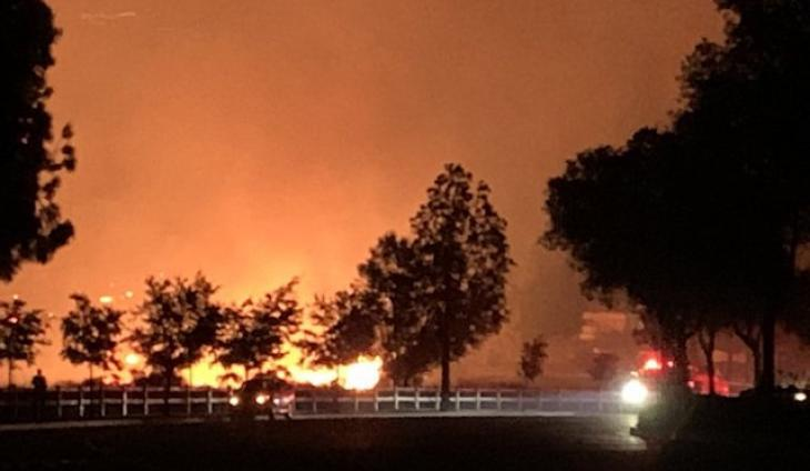 """Erbes Fire"" In Thousand Oaks 100% Contained"