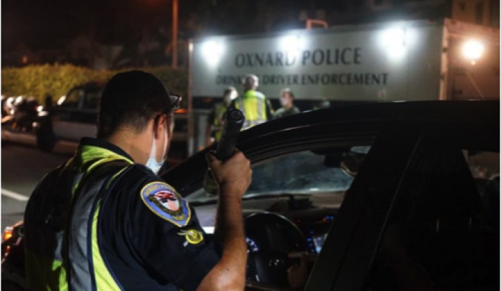 Oxnard DUI/DL Checkpoint  Nets Two Arrests